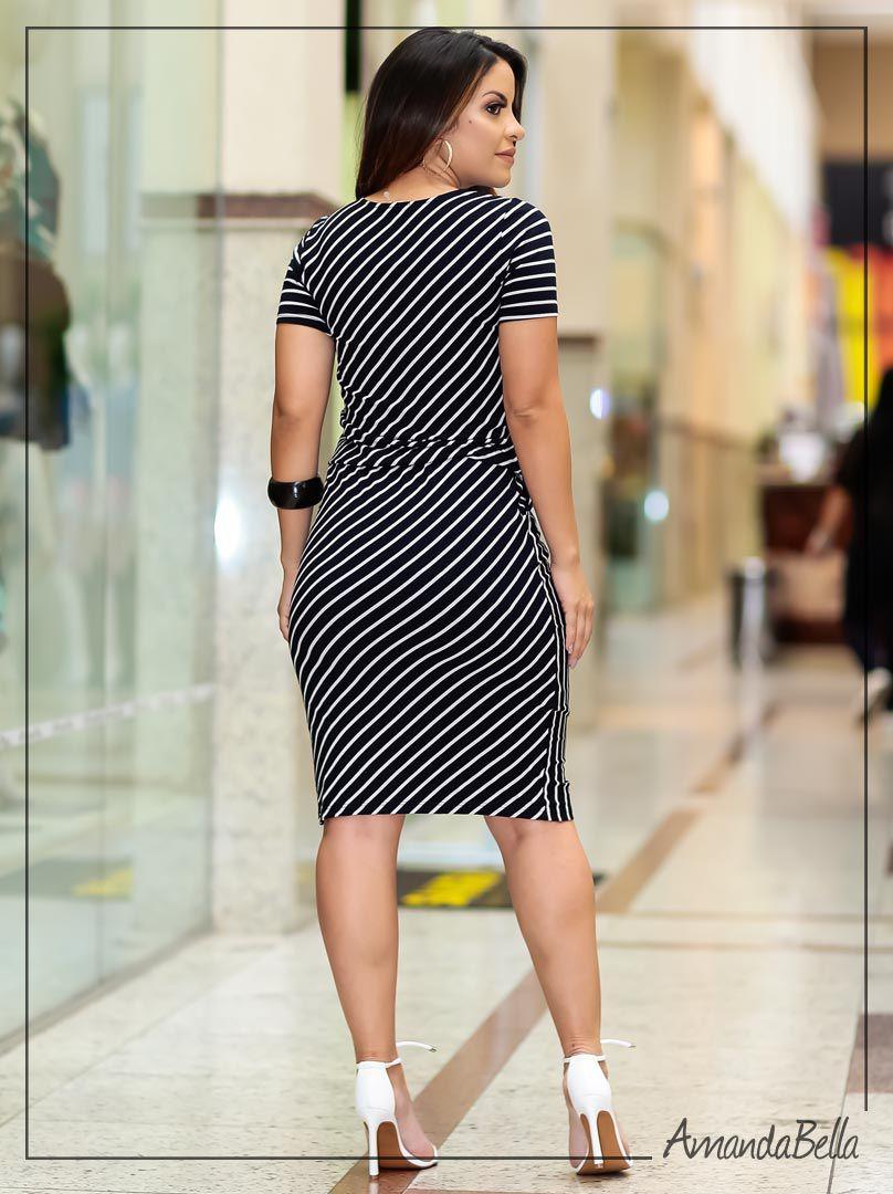 0031487a6 Vestido Evangélico Feminino com Elástico na Cintura | Boutique K