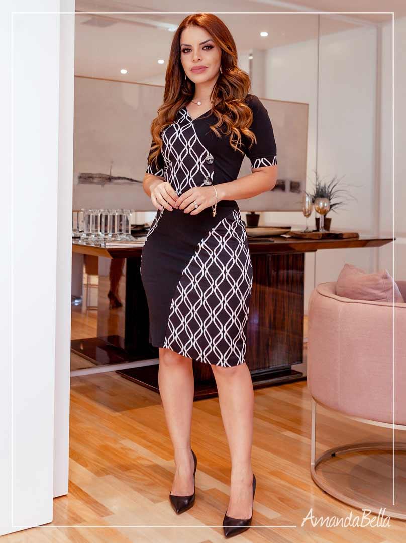 Vestido Executivo Winter 2020 - AmandaBella