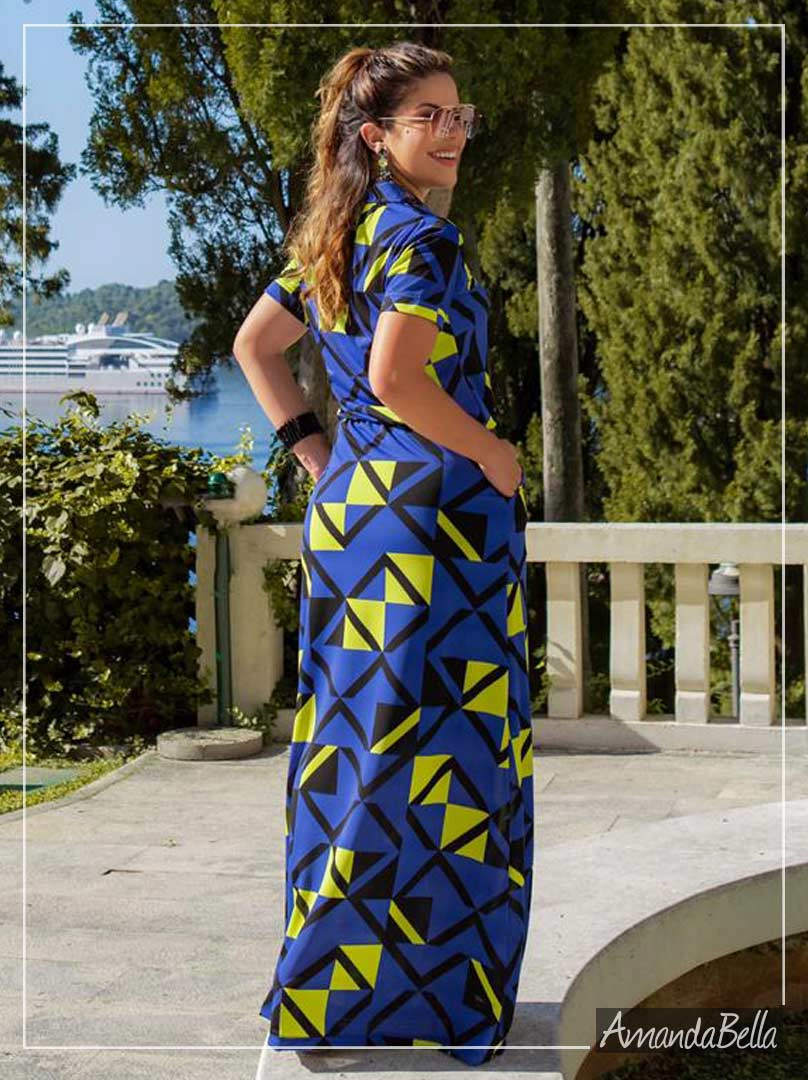 Vestido Longo Chemise Exclusive - Boutique K