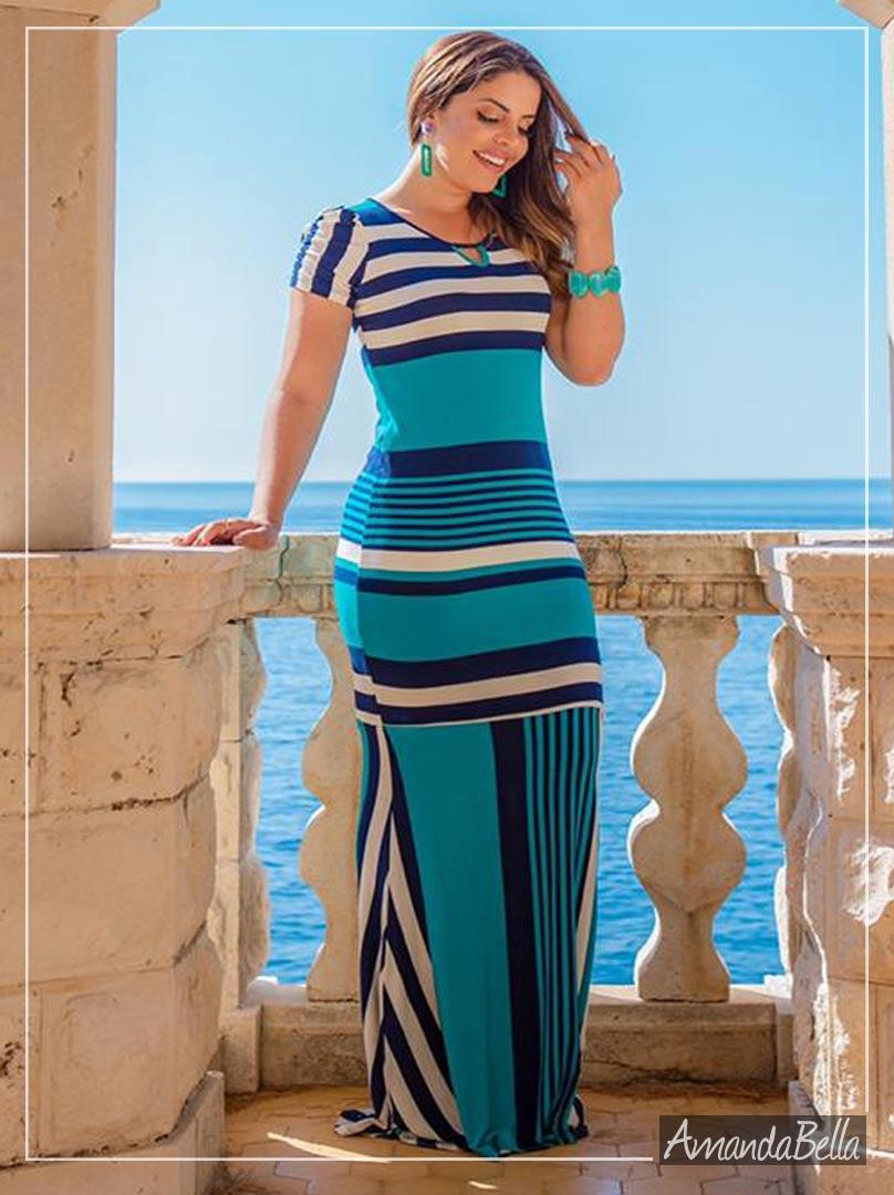 Vestido Longo Sereia  Premium -Boutique k
