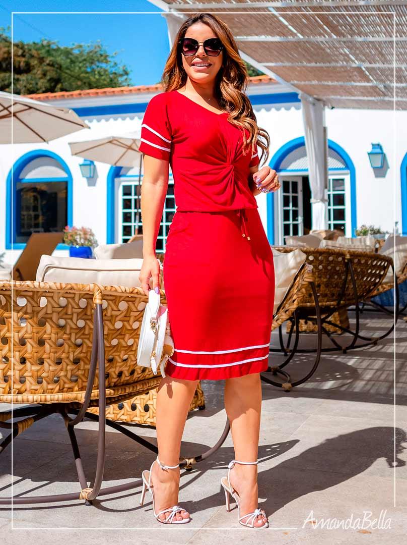 Vestido Rubia Premium Ferrari  - Boutique K