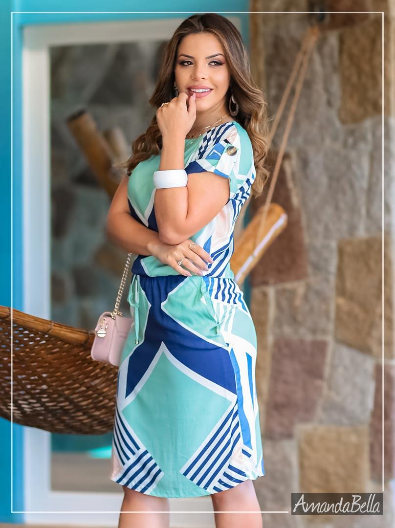 Vestido Soltinho Primavera Verão 2020 - Boutique K