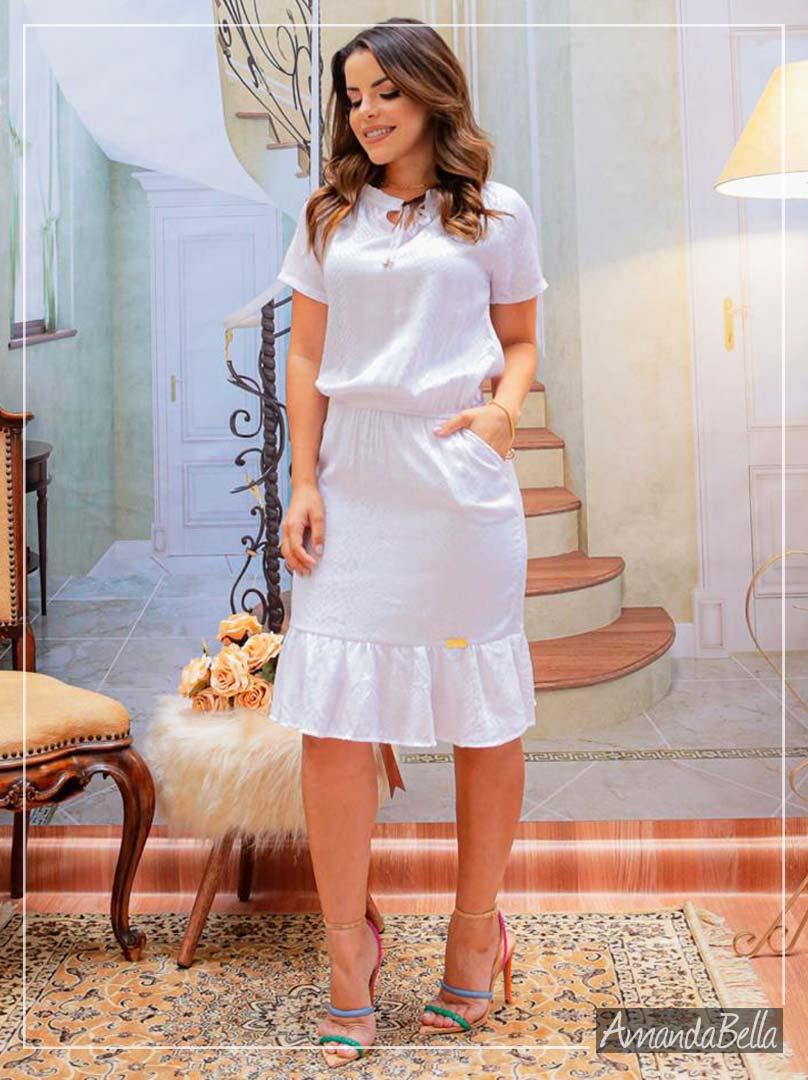 Vestido Soltinho Reveillon 2020 - Boutique K