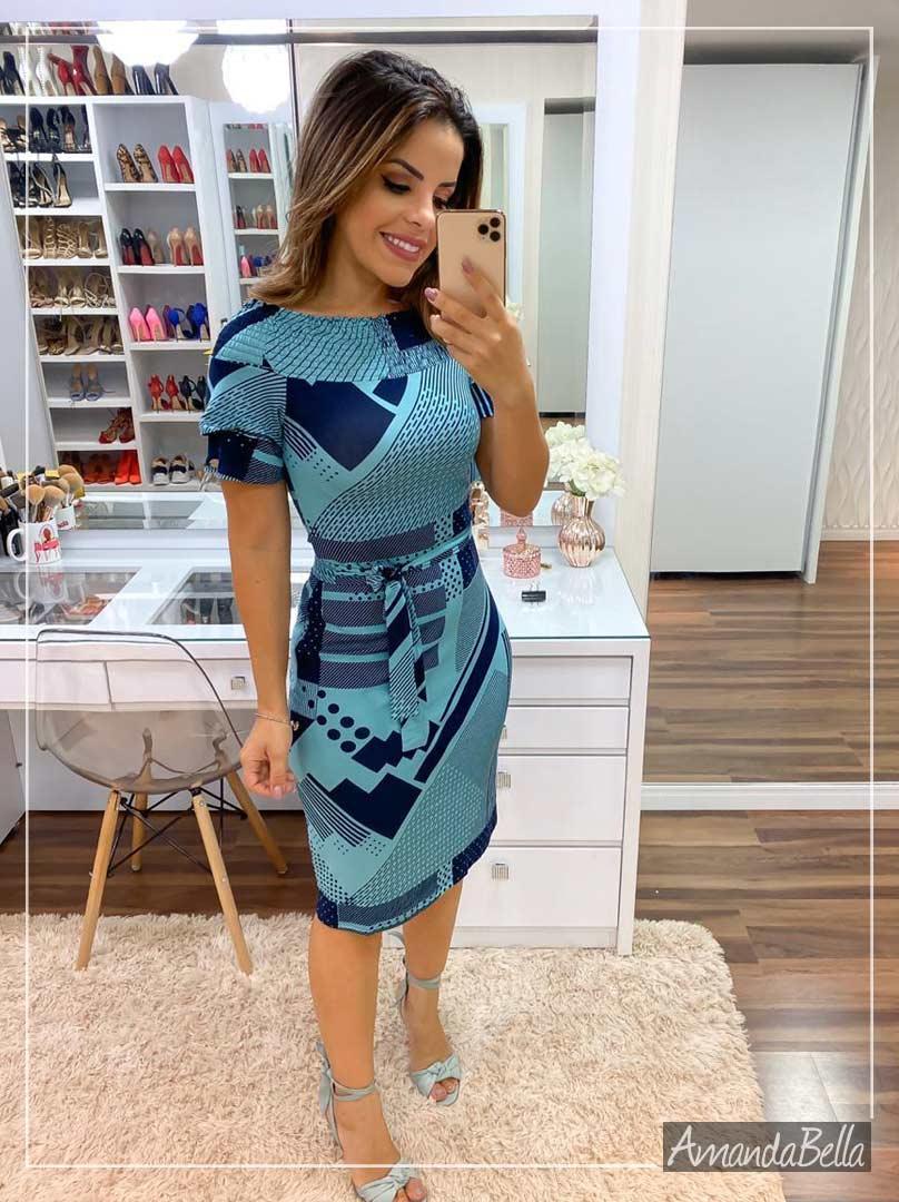 Vestido Tubinho Clássico Executivo - Boutique K