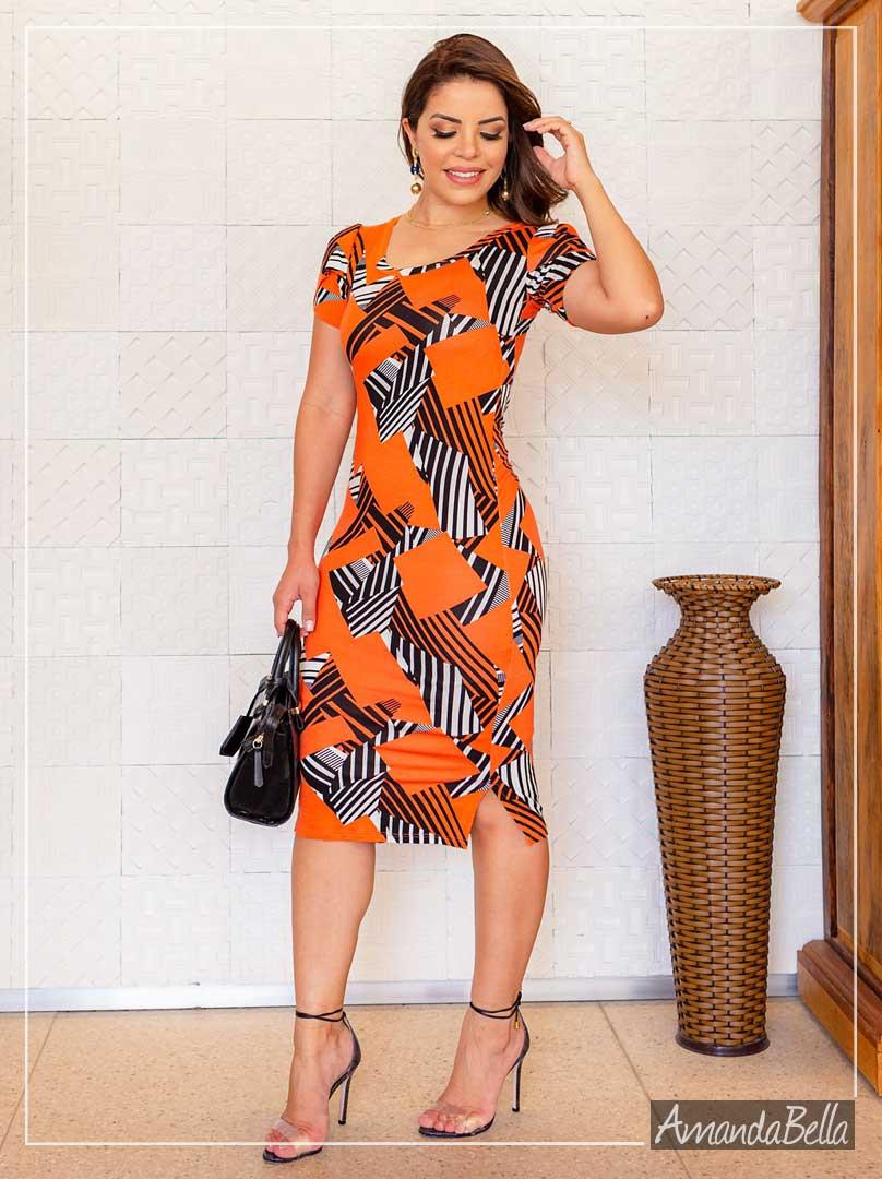Vestido Tubinho em Malha Premium - Boutique k