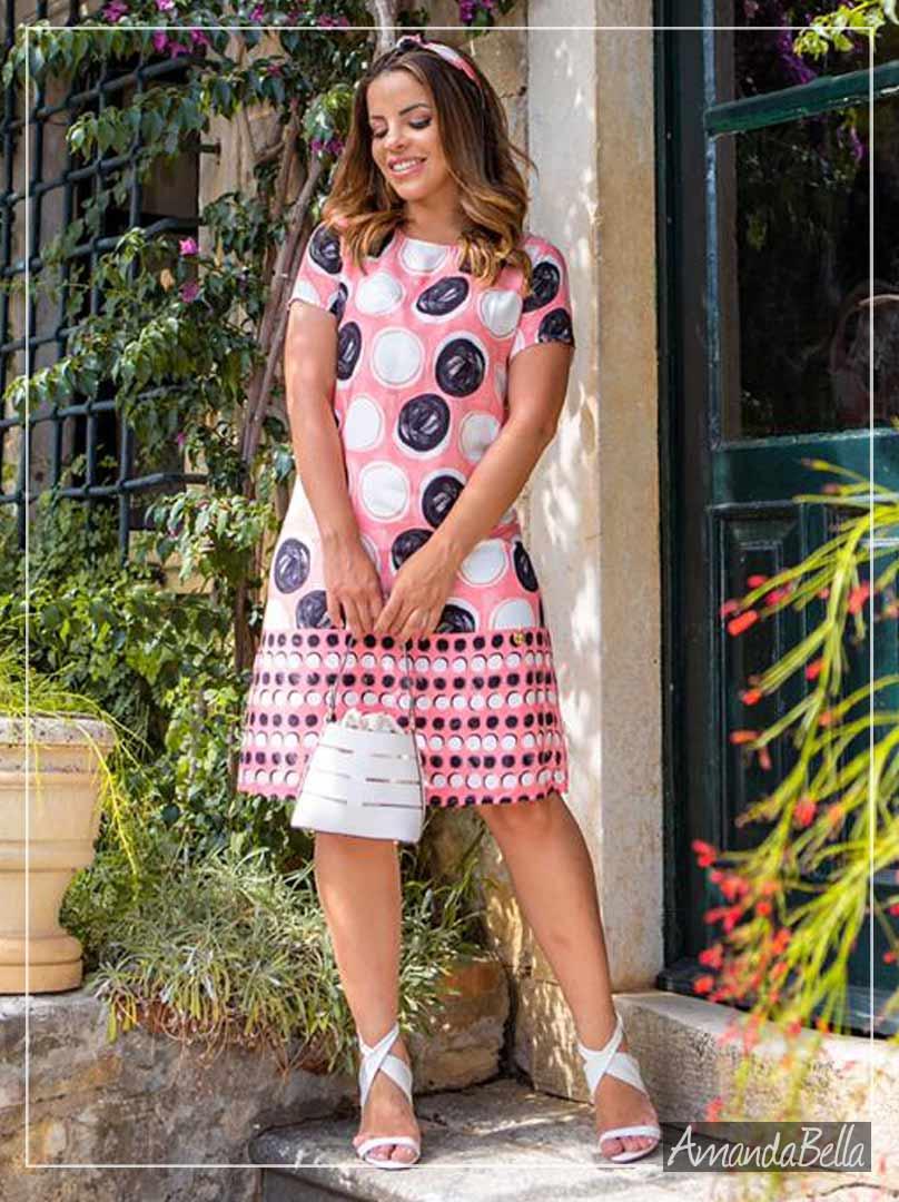 Vestido Viscose Premium Primavera Verão - Boutique K