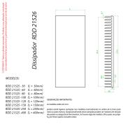 Dissipador de Calor modelo RDD 21526-326