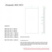 Dissipador de Calor RDD19013-350