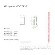 Dissipador de Calor RDD 0820-30