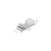 Dissipador de calor RDD 10526-40