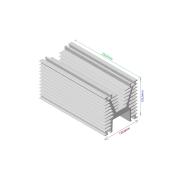Dissipador de calor RDD 120120-250