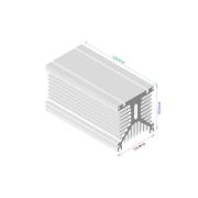 Dissipador de calor RDD 125135-250