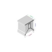 Dissipador de calor RDD 125135L-100