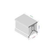 Dissipador de calor RDD 125135L-180