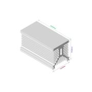 Dissipador de calor RDD 125135L-250