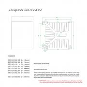 Dissipador de Calor RDD 125135L-300