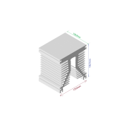 Dissipador de calor RDD 125137-100