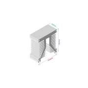 Dissipador de calor RDD 125137-60