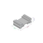 Dissipador de calor RDD 12545-80