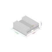 Dissipador de calor RDD 12643-120
