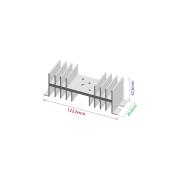 Dissipador de calor RDD 12643-40 1TO3