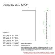 Dissipador de calor RDD 17909-700