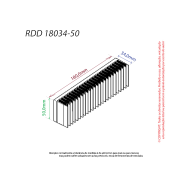 Dissipador de calor RDD 18034-50