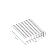 Dissipador de calor RDD 26574-300