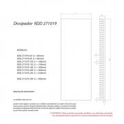 Dissipador de Calor RDD 271019-271