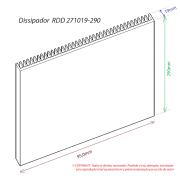 Dissipador de Calor RDD 271019-290