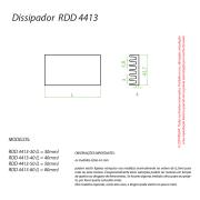 Dissipador de Calor RDD 4413-86