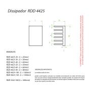 Dissipador de Calor RDD 4425-550