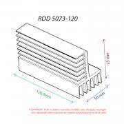 Dissipador de Calor RDD 5073-120