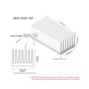 Dissipador de Calor RDD 7659-150