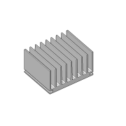 Dissipador de calor RDD 8044-65
