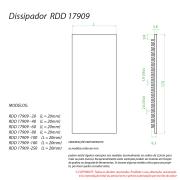 Dissipador de Calor RDD17909-280