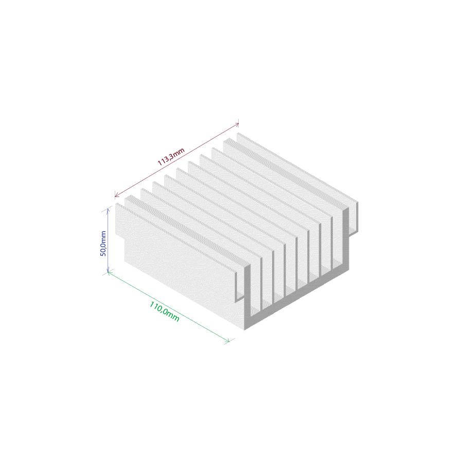 Dissipador de calor RDD 11450-110