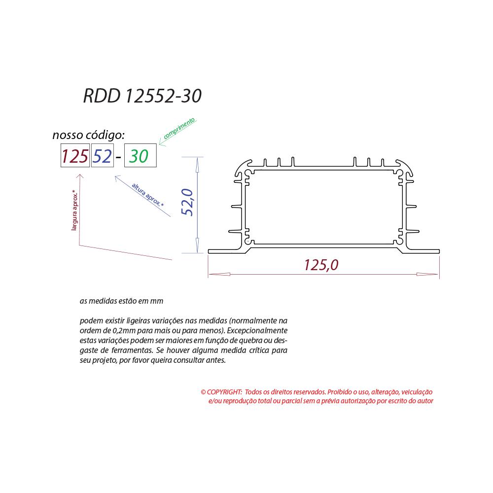 Dissipador de calor RDD 12552-30