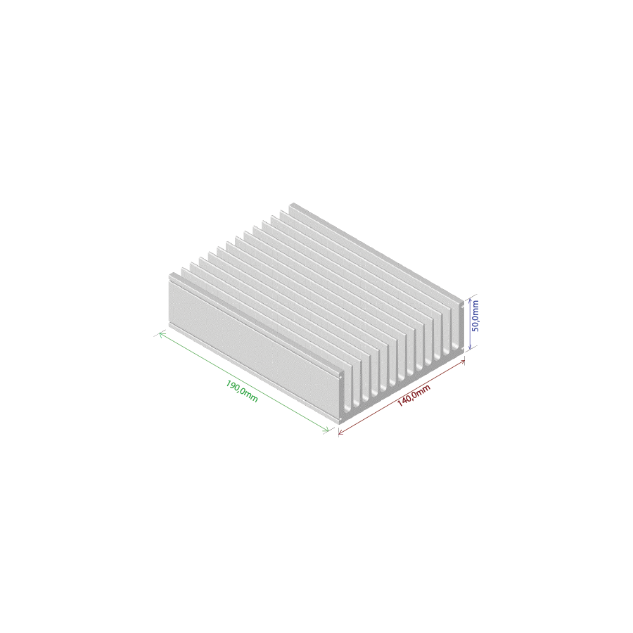 Dissipador de calor RDD 14050-190