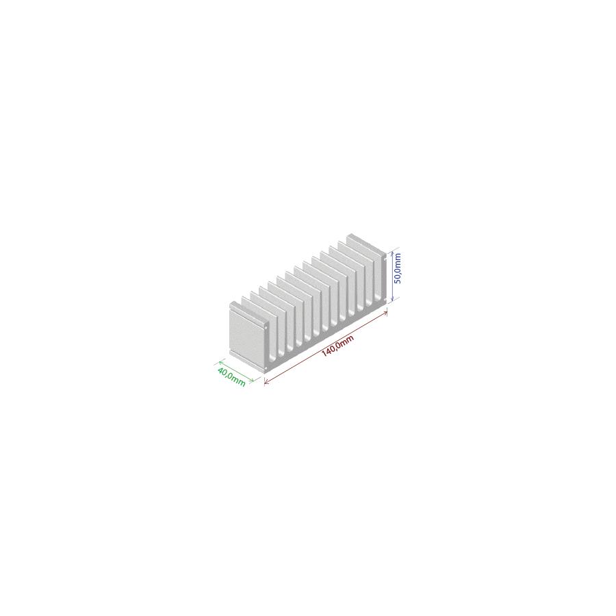 Dissipador de calor RDD 14050-40