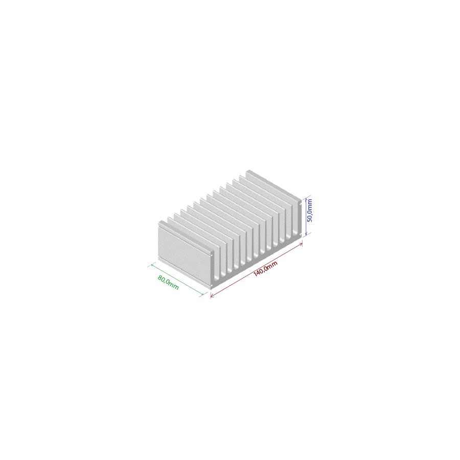 Dissipador de calor RDD 14050-80