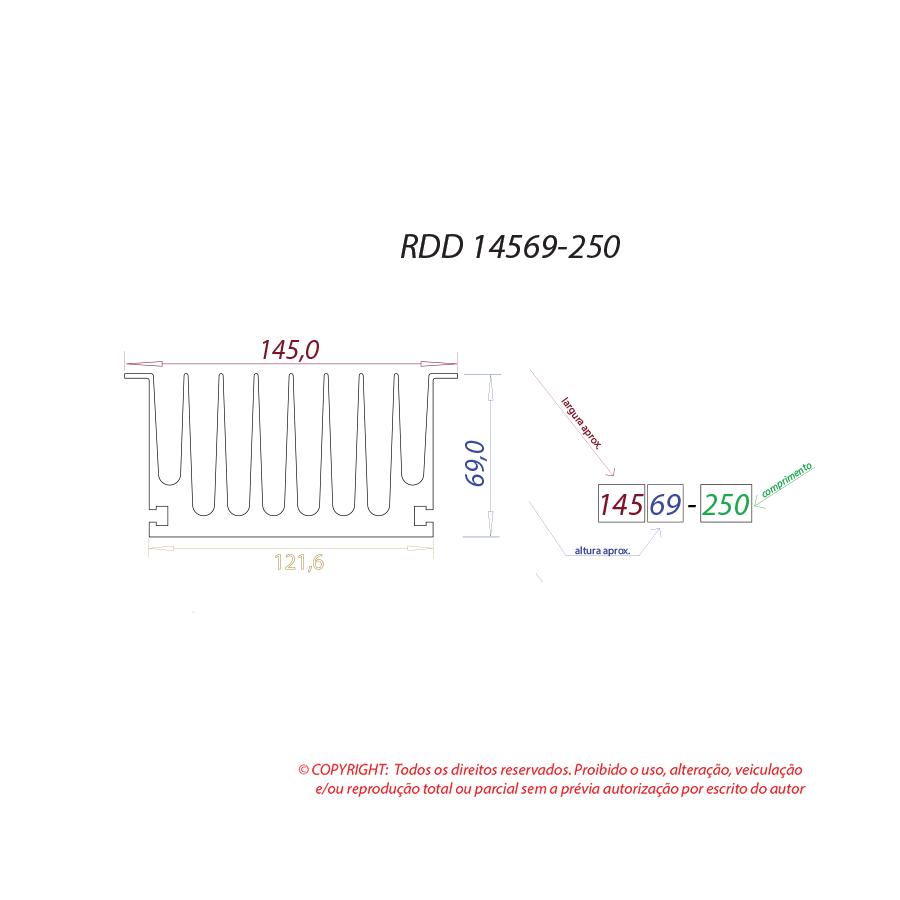 Dissipador de calor RDD 14569-250