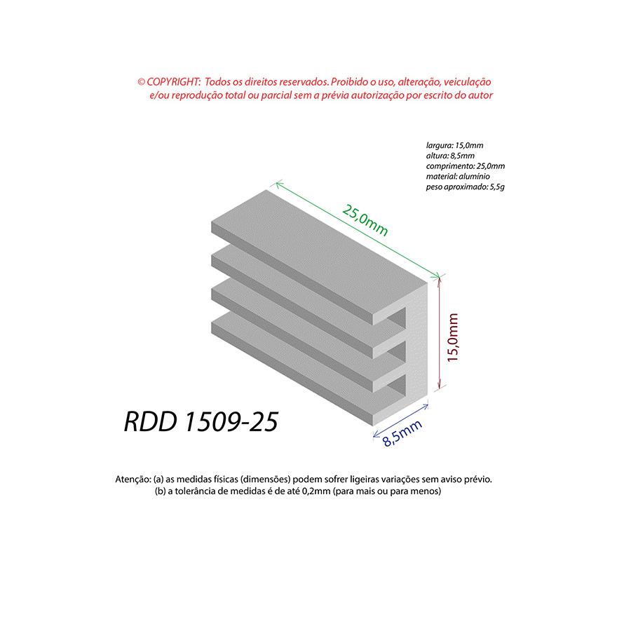 Dissipador de Calor RDD 1509-25