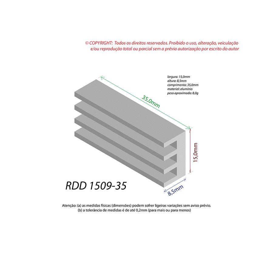 Dissipador de Calor RDD 1509-35