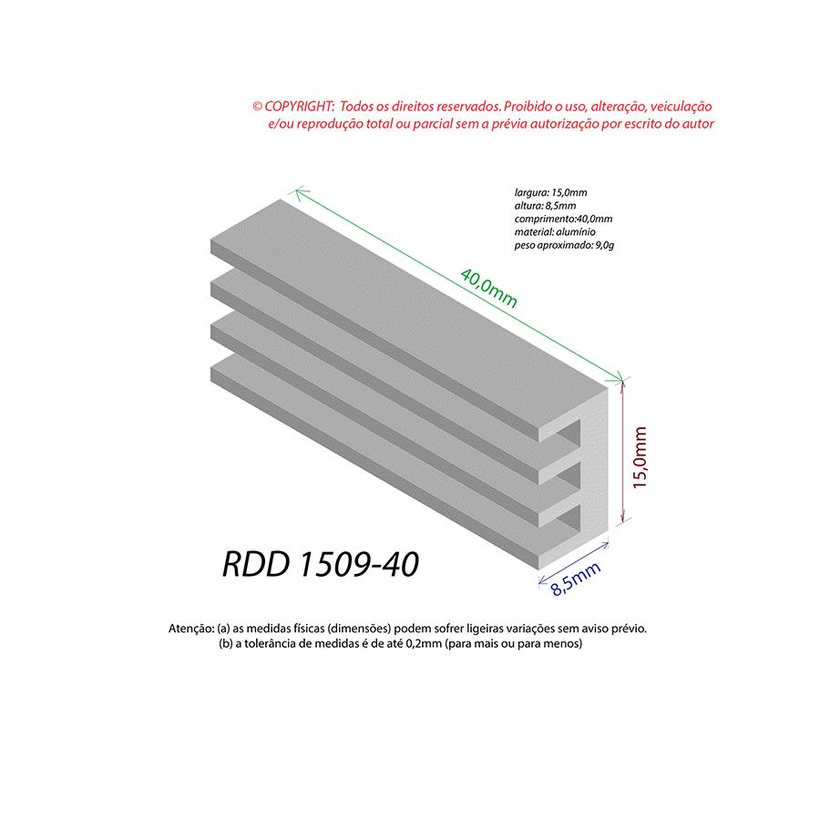 Dissipador de Calor RDD 1509-40
