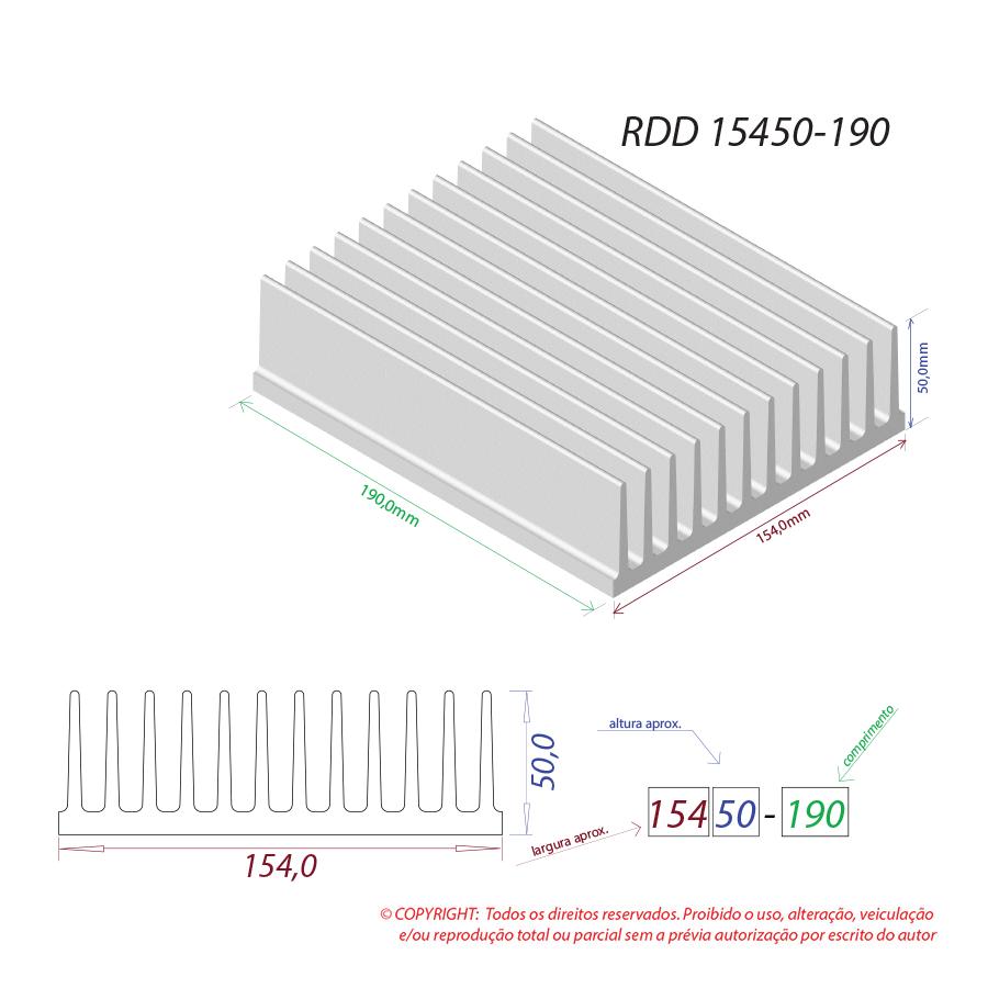 Dissipador de calor RDD 15450-190