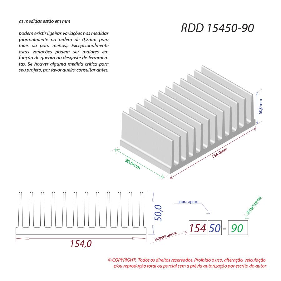 Dissipador de calor RDD 15450-90