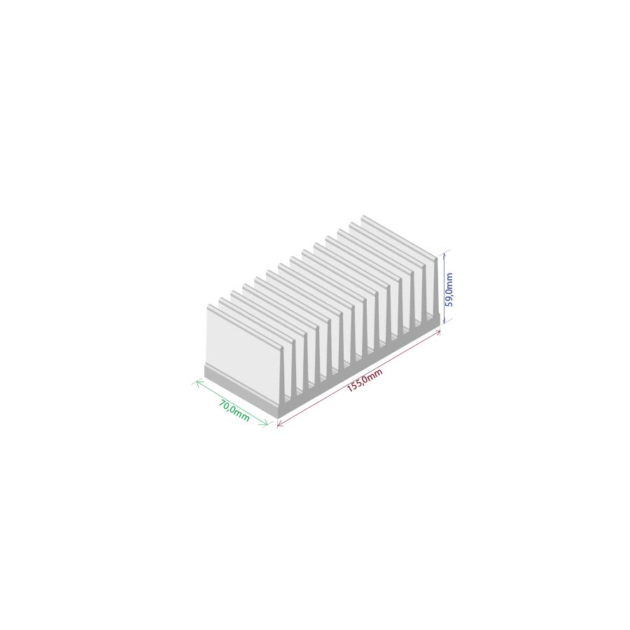 Dissipador de calor RDD 15559-70