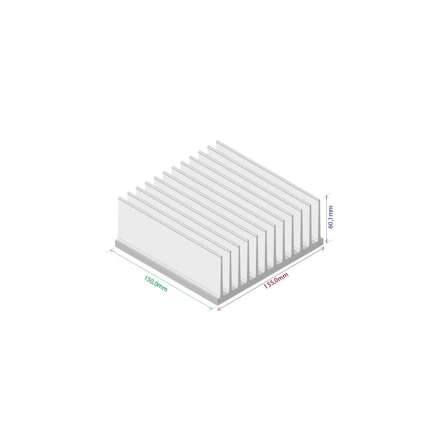 Dissipador de calor RDD 15560-150