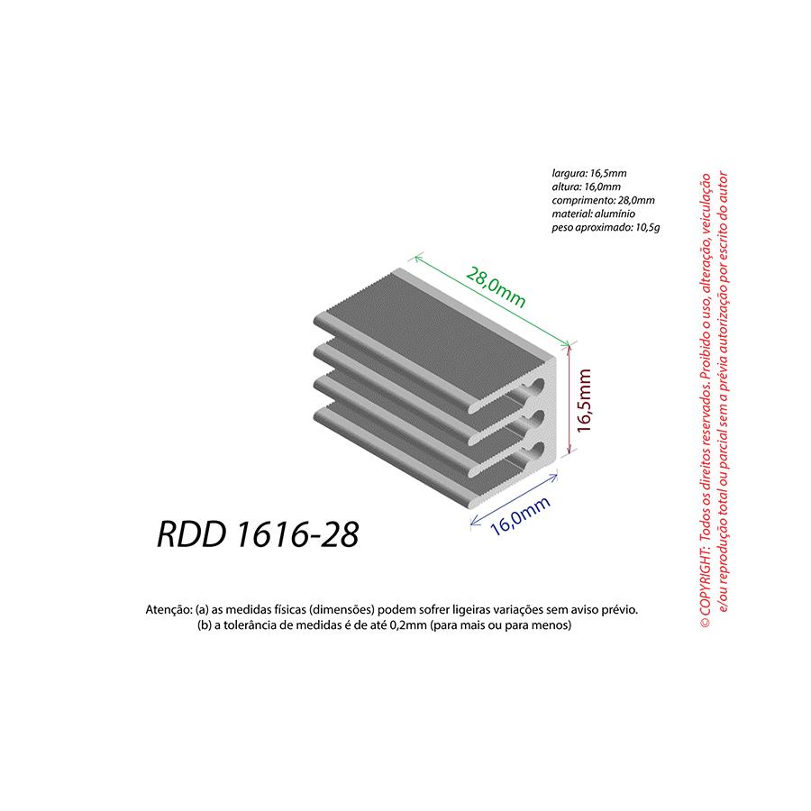 Dissipador de Calor RDD 1616-28
